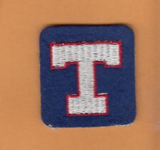OLD 1972 TEXAS RANGERS 1st STITCHED CAP PATCH Unused Stock