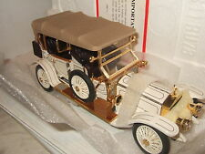 Rare Franklin Mint 1911 Rolls Royce Tourer Diecast Model in 1:24 Scale.