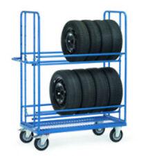 Fetra Reifenwagen Reifentransportwagen 400 kg Tragkraft 4596