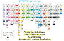Copic SKETCH MARKERS Pick YOUR CHOICE of 6 Colors - Pay for 5, Get 1 Free