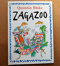 Zagazoo by Quentin Blake funny picture story book for young children Hardback