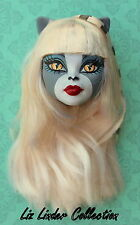 MONSTER HIGH ~ Meowlody Werecat Original 1st Wave DOLL HEAD ONLY
