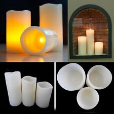 3* LED Candles Real Wax Candle Flickering Light No Smoke/ Smell/ Fire Ever Lasts