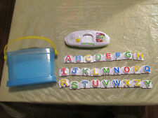 LEAP FROG Alphabet LETTER FACTORY PHonics Learning Toy W/ Bucket Tote * A - Z