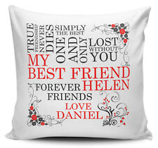 My Best Friend Personalised Cushion Cover