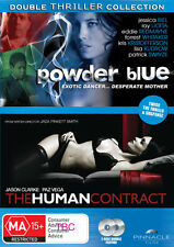Powder Blue / The Human Contract (2 Discs Thriller) * NEW DVD *