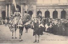 NANCY cortège historique 1909 Jeanne d'Arc