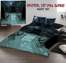 ENTER IF YOU DARE - Duvet Cover Set for UK KING / US QUEENSIZE BED by Paul mudie