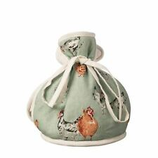 Price & Kensington Farmhouse Kitchen Hen Chicken Muff Tea Cosy Green