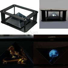 Universal 3D Holographic Projector Projection Pyramid For 3.5''~6'' Mobile Phone