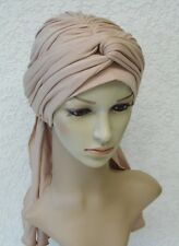 Chemo head wear, women's head covering, chemo hat, bad hair day turban snood