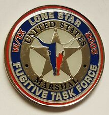 USMS United States Marshals Service W Texas Lone Star Fugitive Task Force 1 5/8""