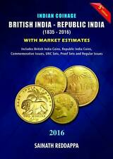 INDIAN COINAGE BOOK CATALOG 2016 -- 5th Edition 2016 by SAINATH REDAPPA