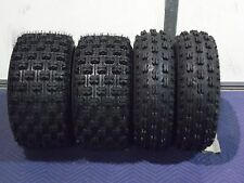 22x7-10 & 20x10-9 NEW ATV TIRE SET (All 4 Tires) YAMAHA RAPTOR 660 700 2001-2016