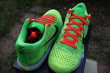"""Nike Kobe X Elite Low ID Coal Hearted """"Grinch"""" size 9.5"""