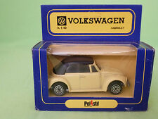 POLISTIL  VW VOLKSWAGEN CABRIOLET - POLITOYS -    RARE SELTEN IN GOOD CONDITION