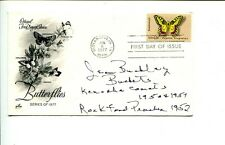 Jean Buckley AAGPBL Kenosha Comets Signed Autograph FDC