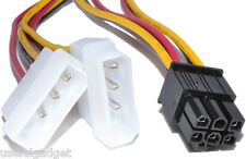 IDE to 6 pin Video Graphic Card Power Cable for EVGA GeForce GTX 680, 660, 650