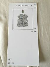 "Me To You Tatty Teddy ""One I Love"" Christmas Card From 99p"