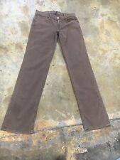 Men's Earnest Sewn jeans, Fulton Zip, khaki wash, straight leg sz *30/32 new