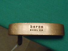 """BARON MODEL 214 BRASS PUTTER - 35.5"""" LONG - VERY GOOD CONDITION!"""