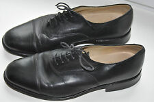 Beautiful LOAKE Shoemakers Black Leather Lace Up Oxford Shoes UK 6.5 EU 40 mens
