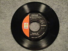 """45 RPM 7"""" Record Francis Lai Love Is A Funny Thing & Concerto For Love SUA50665"""