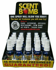 Scent Bomb 1 oz 100% Concentrated Air Freshener 20 Pack Display (Top 5 Flavors)