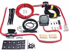 4mtr Split Charge Kit 12V 140a M-Power Intelligent VSR 110a Ready Made Leads