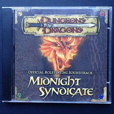 Rare DUNGEONS & DRAGONS Roleplaying Soundtrack OST CD 2003 Midnight Syndicate US
