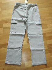 cotton traders cargo pull on trousers size 14 leg 29 brand new & tags pearl grey