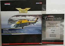 Corgi Aviation Westland Wessex RNAS Portland AA37605 Certificate No 1501 of 1501