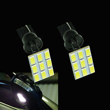 2x Error Free Side Mirror Puddle LED Lights for VolksWagen Tiguan/Golf/Passat P3