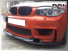 RZ Style Carbon Fiber Front Bumper Add-On Lip for BMW E82 E82 1-Series 1M Bumper