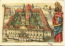 Alte Kunstpostkarte - The Loreto of Prague
