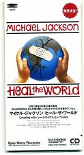 "MICHAEL JACKSON ""HEAL THE WORLD"" CDs JAPAN"