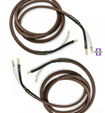 Analysis Plus Chocolate Oval 12/2 CL3&FT4 Speaker Cable Stereo Pair 8 ft