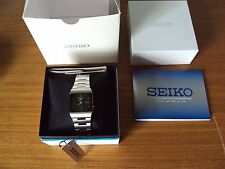 Seiko 5 Automatic dress watch square Japan Made SNY011J1 UK SELLER