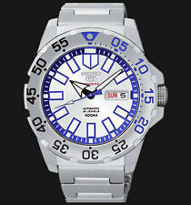 NEW MENS 100M SEIKO MINI MONSTER 24 JEWEL AUTOMATIC ANALOG SPORTS WATCH SRP481K1