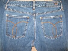 Womens Sergio Valente Distressed Stretch Flare size 26 x 32