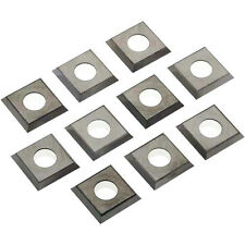 10 Indexable Carbide Spiral Head Planer Jointer Inserts 14mm x 14mm x 2mm New