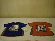 LOT OF 2 BOYS SIZE 3 SHORTS & SHIRTS 2-PIECE SETS /SEE PICTURES /NEW / FREE SHIP