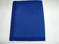 ID WALLET MADE IN USA NYLON THIN AND WATERPROOF ROYAL BLUE