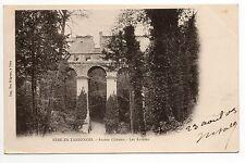 FERE EN TARDENOIS aisne CPA 02 l'ancien chateau les arcades carte 1900