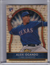 2011 TOPPS FINEST #89 ALEXI OGANDO ROOKIE RC GOLD SUPERFRACTOR TEXAS RANGERS 1/1
