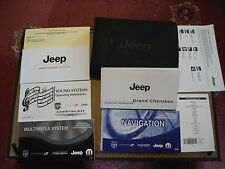 JEEP GRAND CHEROKEE WK2 11-13 OWNERS MANUAL HANDBOOK BOOK PACK INC SATNAV MYGIG