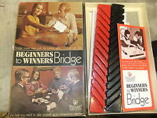 Toys BRIDGE Beginners to Winners INVICTA 1972  genuine and perfect + box NEW