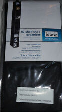 10 Pair Shoes Closet Shelf Organizer keeps Shoes & Accessories Organized New