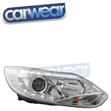 FORD FOCUS 5 DOOR LW TURBO 13-15 CHROME DRL LED PROJECTOR HEAD LIGHT