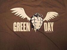 Green Day, Heart, Grenade,  100% Cotton, Green, Short Sleeve, Girls, Shirt, 2X